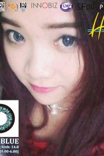 Kính Áp Tròng Xanh Dương - Blue (Big S2-002) 6927