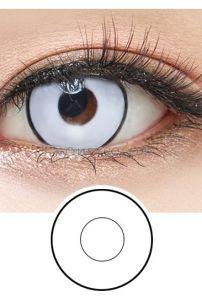 Crazy Lens - White Zombie