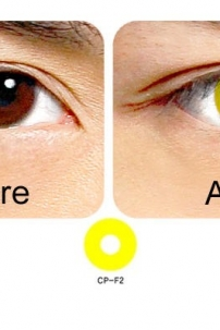 Crazy Lens - Yellow