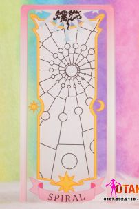 Thẻ Bài SPIRAL - Clear Cards