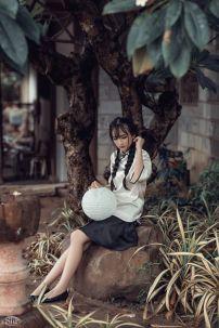 Trang Phục Nữ Sinh Trung Quốc 4 - Tay Lửng