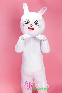 Trang Phục Mascot Thỏ Cony