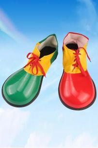 Giày Chú Hề Simili Xanh Đỏ