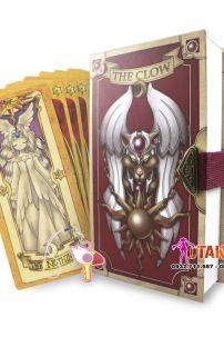 Bộ Bài Clow Chất Lượng Cao Chính Hãng Donaldr Cardcaptor Sakura