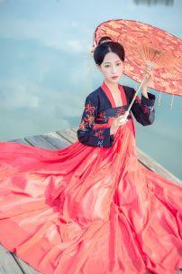 Hán Phục Mạn Châu Sa Hoa - Thêu