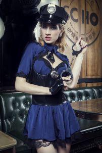 Bộ Cosplay Nữ Cảnh Sát Sexy 17