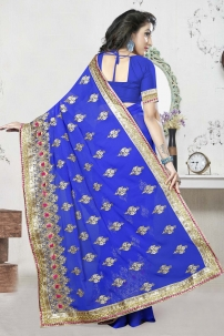 Sari Trang Phục Ấn Độ - Đồ Ấn Độ Xanh