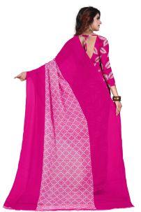 Saree Trang Phục Ấn Hồng - Đồ Ấn Độ Hồng