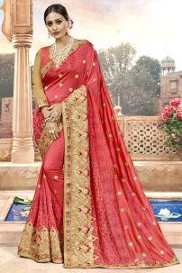 Saree Trang Phục Ấn Cam 2 - Đồ Ấn Độ Cam 2
