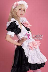 Trang Phục Siêu Lolita Maid 2 - Nàng Hầu Nhật Bản Cao Cấp