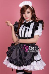 Trang Phục Siêu Lolita Maid 3 - Nàng Hầu Nhật Bản Cao Cấp