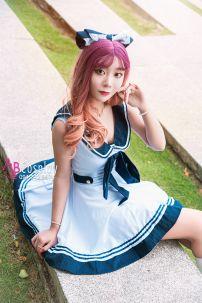 Đầm Nữ Sinh Sailor Lolita
