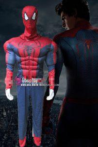 Trang Phục Người Nhện Độ Cơ Bấp In 3D - The Amazing Spider-Man