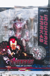 Mô Hình SHFiguarts Iron Man Mark 43 - Avengers Age Of Ultron